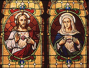 Sacred Heart and Immaculate Heart
